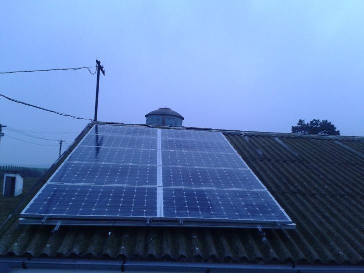 Gallus Kft. - napelemrendszer