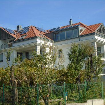 Balatonfüredi családi ház - Napelemes rendszere