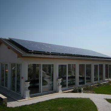 Családi ház - Napelemes rendszere